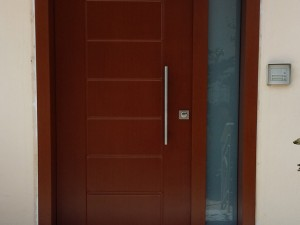 Πόρτα Ασφαλείας σε Κατοικία